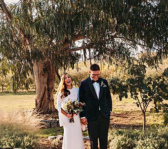 beautiful wedding orange celebrant
