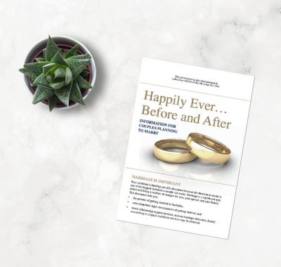 happily ever after marriage booklet celebrant large 1